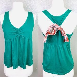 Anthropologie Lilka Halter Racerback top Medium